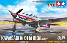 Tamiya Kawasaki Ki-61-Id Hien Tony 1/72 scale airplane model kit new 60789 *