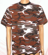 Tee Shirt Armée militaire Camo Camouflage rouge RED HOT Airsoft  XXS-->3XL
