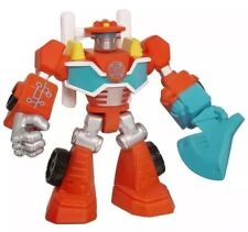 NEW SEALED Transformers Rescue Bots HEATWAVE Action Figure Toy Bot 4 inch Fire