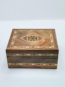 Schmuckkasten Holzschatulle,Box,Kästchen,Mosaik .