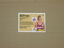BUTTER  - CSP LIMOGES  Carte OFFICIAL BASKET-BALL CARDS panini 1994 PRO A