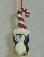 Paddy Peppermint 2012 Boyds Bearstone Penguin 3.5in Christmas ornament 4028442