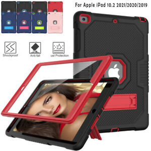 Shockproof Protective Case Heavy Duty Stand Cover for iPad 10.2 2021 2020 2019