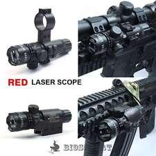 Red Dot Laser Sight Rifle Airgun Soft Air Gun Airsoft Weaver Picatinny Mount Kit