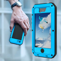 Genuine Aluminum Gorilla Glass Metal Waterproof Case Cover For iPhone 11 Xs Max