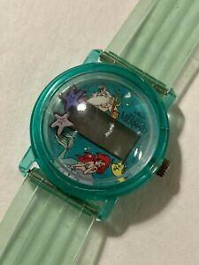 The Little Mermaid RARE Bubble Watch 1989 Vintage Disney Ariel Wrist Watch
