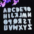 Alphabet Letter A-Z Cutting Dies Stencil DIY Scrapbooking Album Decor Embossing