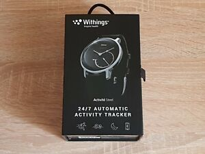 Withings Activite Steel Activity and Sleep Tracking Watch Black