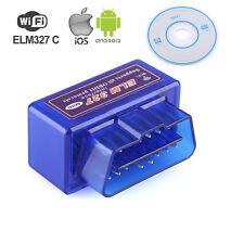 ODB2 II Wifi Adapter Diagnosegerät Testgerät ELM327 Scanner Für iPhone Android