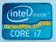 Intel inside Core i7 Sticker Logo for laptop desktop PC