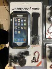 For iphone 7 Motorcycle Bike Phone Holder Waterproof Case Handlebar