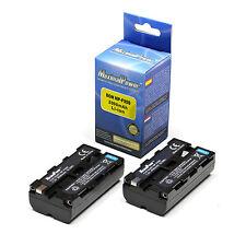 Refuelergy Paquete de 2 baterías para Neewer CN-160 LED Luz De Video Sony NP-F550