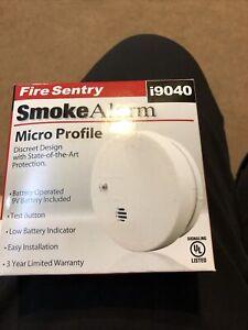 NEW FIRE SENTRY i9040 MICRO PROFILE FIRE SMOKE ALARM