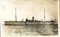 HMS Cyclops RPPC postcard real photograph Royal Navy military antique