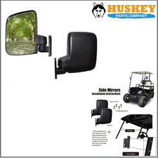Golf Cart Side mirrors rear view Mirrors Fits Club Car EZGO YAMAHA Adjustable