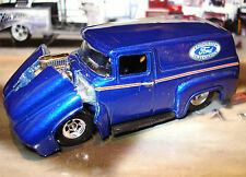 100% HOT WHEELS 56 1956 FORD F-100 LIMITED EDITION PANEL 1/64 STREET ROD TRUCK