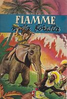 FIAMME NELLA FORESTA di Ardens 1951 Edizioni Paoline ILLUSTRATO PER RAGAZZI