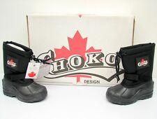 NIB Choko Snowmobile ATV Black Defender Winter Boots Size 9 Kids -22 Fahrenheit