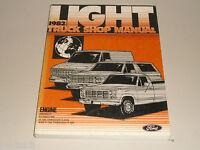 Workshop Manual Service Manual Ford '82 Pick Up Truck Motor BRONCO F-Series Etc