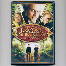 Lemony Snicket's A Series of Unfortunate Events 2004 PG movie new DVD Jim Carrey