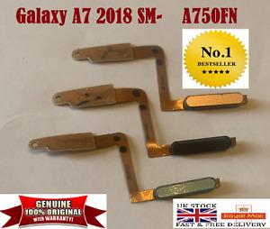 GENUINE SAMSUNG GALAXY A750 A7 2018 FINGER PRINT SCANNER POWER BUTTON HOME KEY