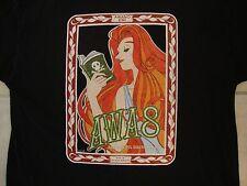 AWA 8 Anime Weekend Atlanta 8 2002 Racing Fan Space Pirate Black T Shirt XL