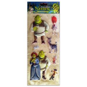 Dreamworks Shrek Stickers 3D 4001