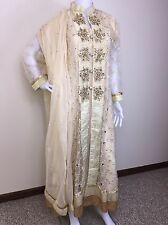 Party Salwar Kameez Pakistani Indian Wear Suit Designer Shalwar Ethnic Dress M