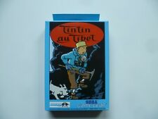 Sega Game Gear - Tim in Tibet - Tintin au Tibet - OVP unbespielt