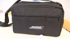 Genuine Bose SoundDock Series 1,2 & 3 Black Travel Messenger Cross Shoulder Bag