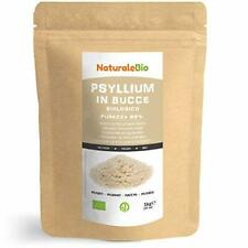Tégument de Psyllium Blond BIO Pureté 99% de 1Kg. Psyllium Husk AB Naturel et...
