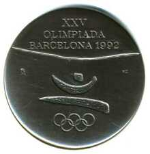 XS- Classic 1992 Barcelona Summer Olympic Participation Medal