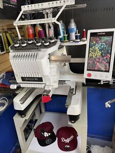 Brother  PR 1000 10 Needle Embroidery Machine , low hours, well maintained.