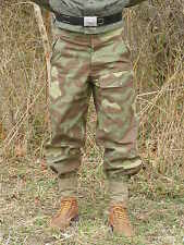 Reproduction German WWII Italian M29 Camouflage Trousers Size 34 W Made In USA