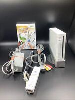 Nintendo Wii White Console System w/ Wiimote, Motion Plus RVL-001 (USA) Gamecube