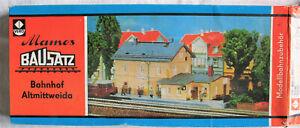 Mamos Bausatz Altmittweida, Bahnhof, OVP;