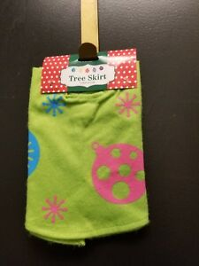 """18"""" Felt Christmas Tree Skirt For Small Trees ~ Choose from 3 styles"""