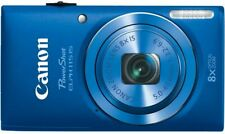 New Canon PowerShot ELPH 115 IS 16.0MP 8X Digital Camera - BLUE