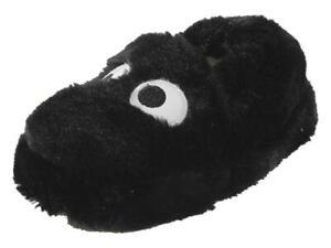 Stride Rite Toddler/Little Boy's Sam Silly Monster Black Slippers Shoes