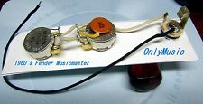 COMPATIBLE WITH FENDER MUSICMASTER 60's REPRO VINTAGE WIRING HARNESS