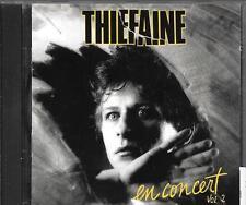 CD ALBUM 10 TITRES--THIEFAINE--EN CONCERT VOL 2