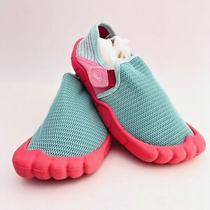 NEWTZ Water Beach SHOES Pink MESH TOPS Size 11/12 Great condition