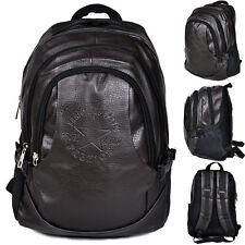 Polyurethane backpack Waterproof Large Capacity travel Hiking day pack Retro bag