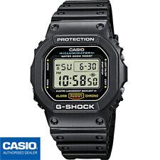 CASIO DW-5600E-1VER⎪DW-5600E-1V⎪G-SHOCK The Origin⎪ORIGINAL⎪NEGRO⎪HOMBRE