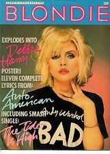 Blondie Screen Scene Magazine      Debbie Harry
