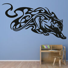 Panther Tribal Animals Wall Sticker WS-17475