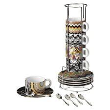NEW MISSONI Espresso Cup Set