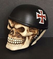 German Iron Cross Skull Helmet Head Shift Knob Car Manuel Stick Hot Rat Rod Drag