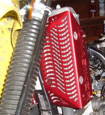 Unabiker Radiator Guard - DRZ400 S SM - Anodised RED
