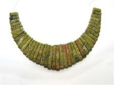 Unakite Graduated Collar, Cleopatra, Egyptian Fan 41 pieces
